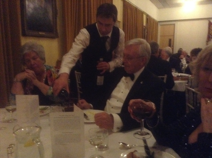 rotary club windsor and eton presentation dinner more tea