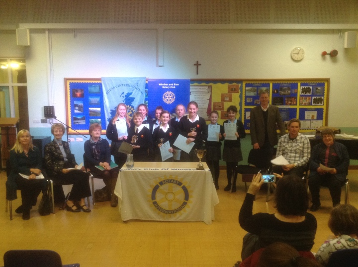 Youth Speaks Intermediate Windsor and Eton Contestants and Winners