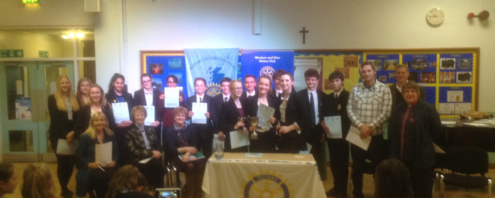 Youth Speaks Senior Windsor and Eton Contestants and Winners