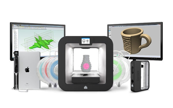 3d printer and scanner