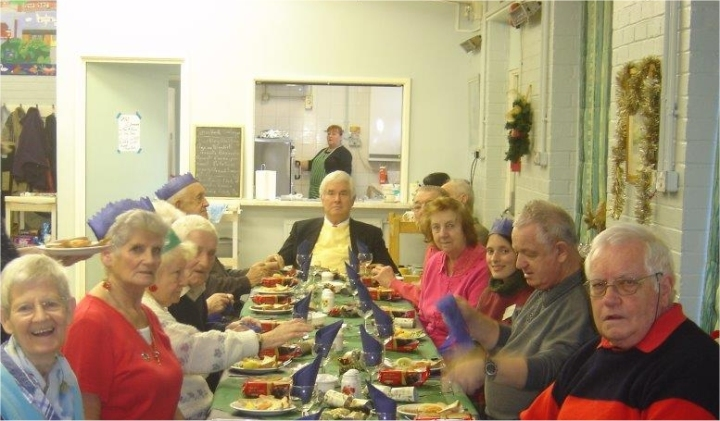 christmas lunch at spencer denney centre