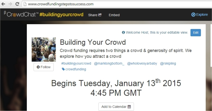building your crowd 2015
