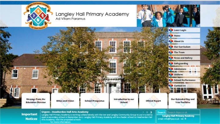 langley hall primary school