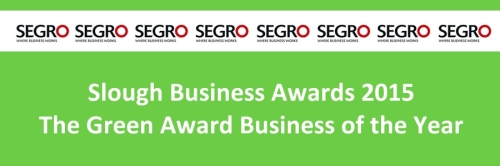 slough business awards 2015 the green award business of the year