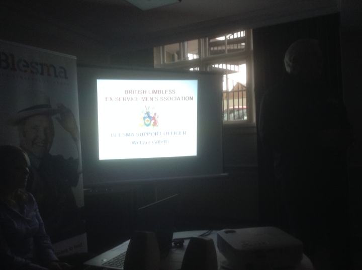 blesma presentation to rotarians