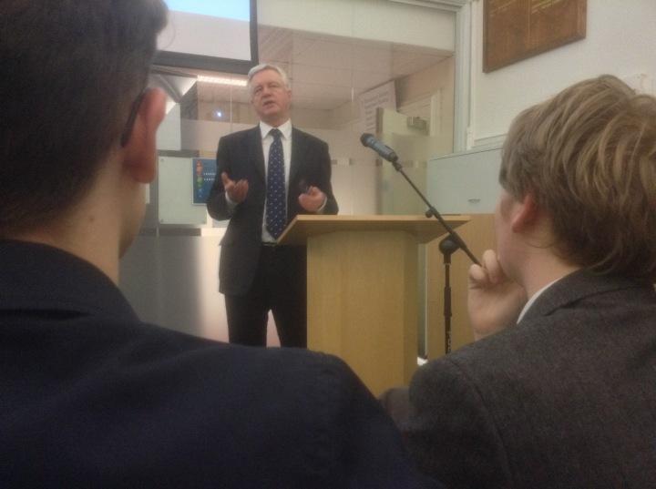 David Davis MP Magna Carta