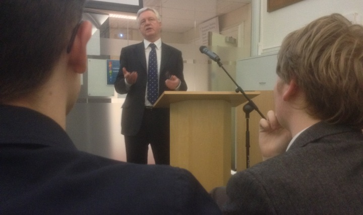 David Davis MP Magna Carta