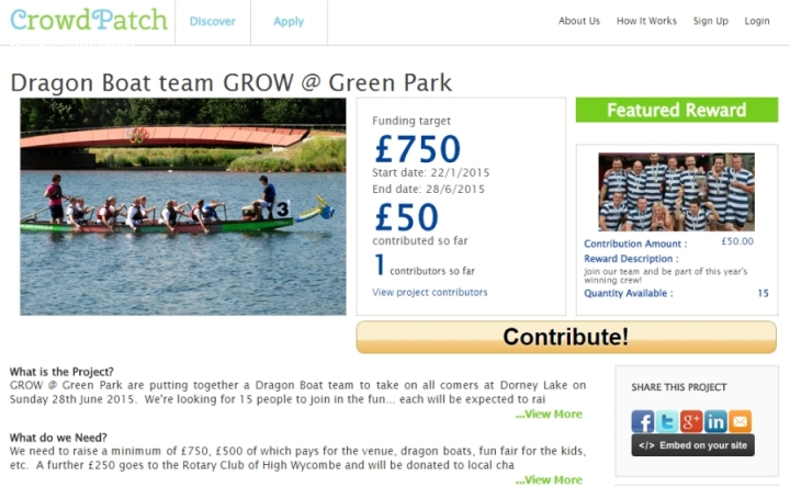 dragon boat team grow at green park