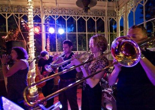 trombone jonathan bainbridge with band