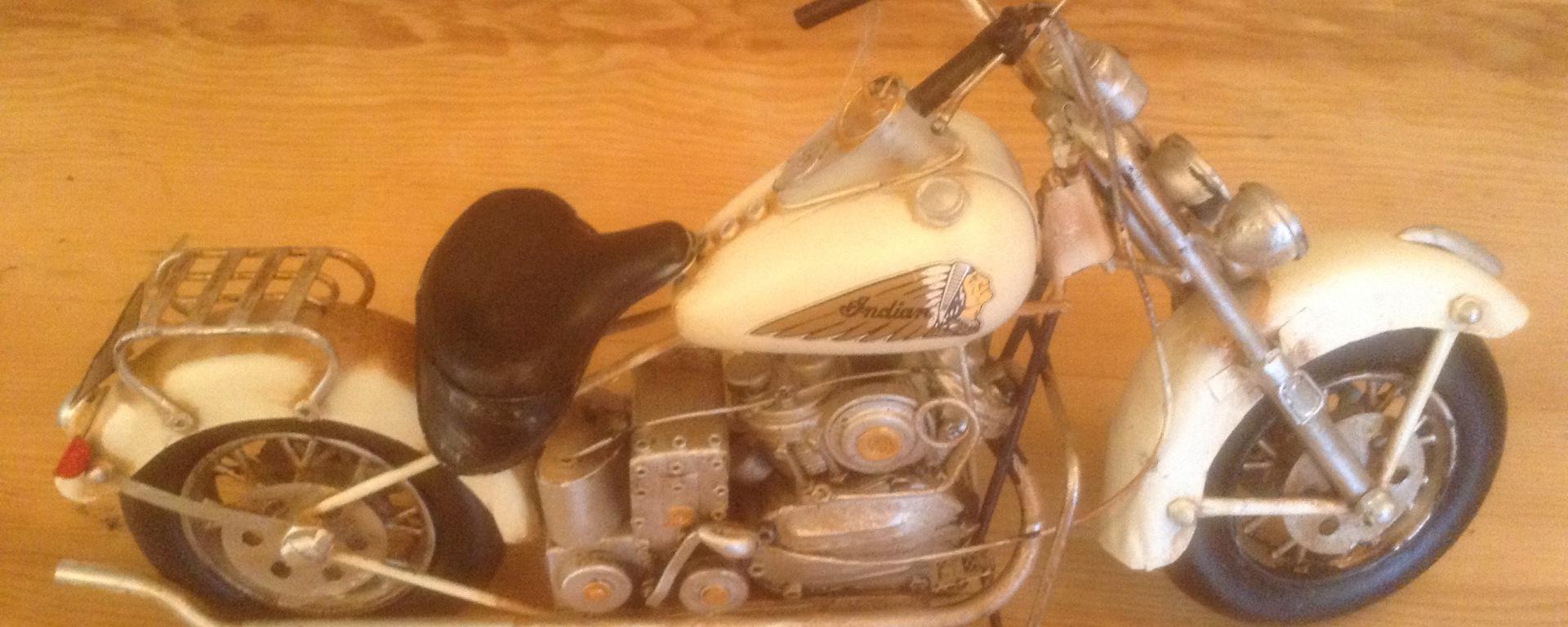 motorbike birthday present