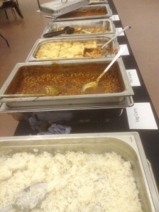 Slough Means Business Economic Growth Conference lunch curry