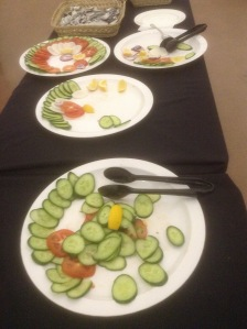 Slough Means Business Economic Growth Conference lunch salad