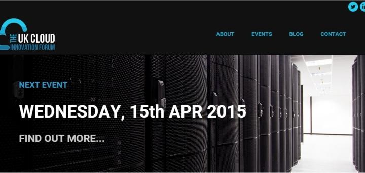 the uk cloud forum 15th april