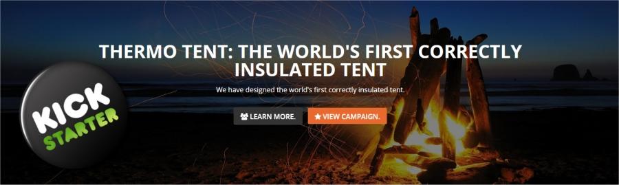 thermo tents kickstarter