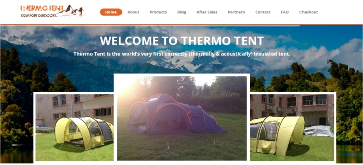 thermo tents website