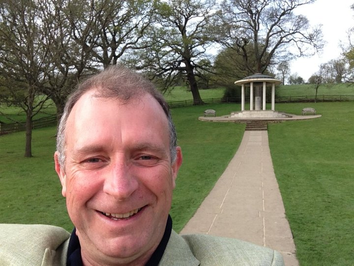 jon davey and magna carta memorial