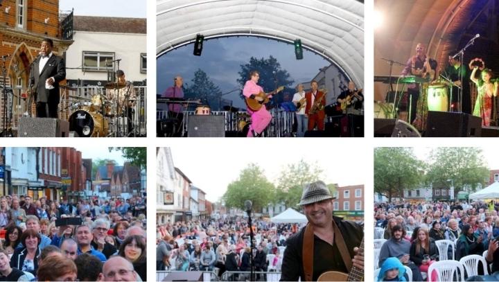 Pauly Zarby International Street Concert montage