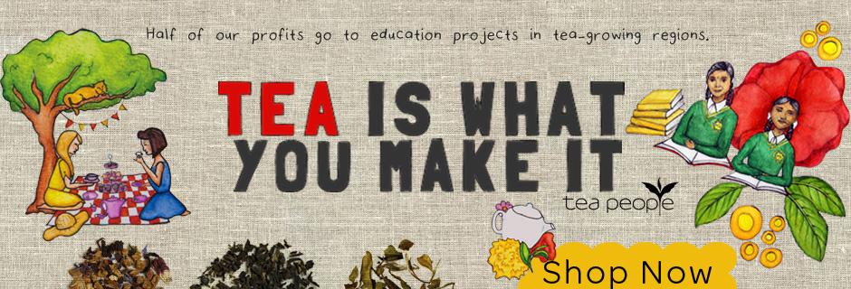 tea people website banner