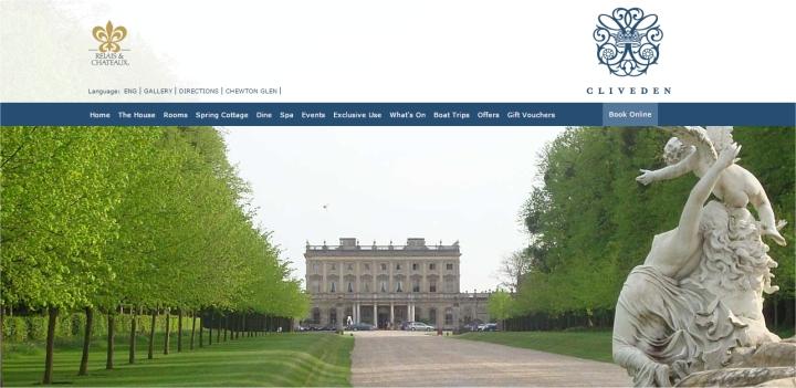 cliveden house website