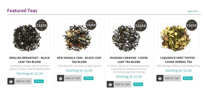 tea people featured teas