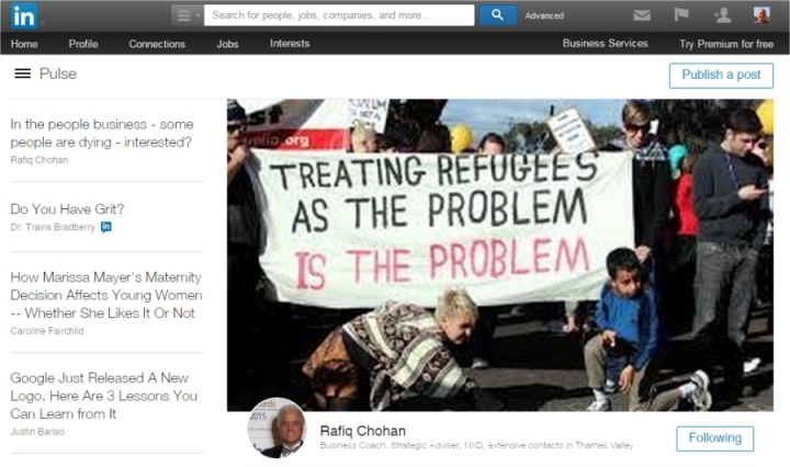 treating refugees as the problem is the problem
