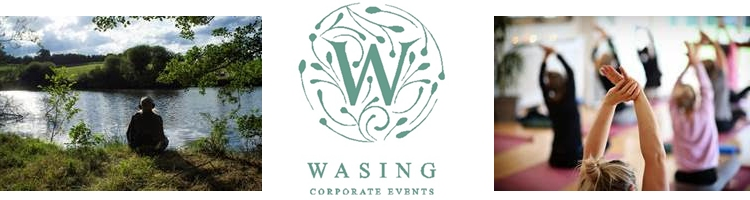 wasing corporate events wellbeing