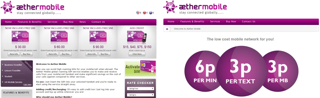 aether mobile