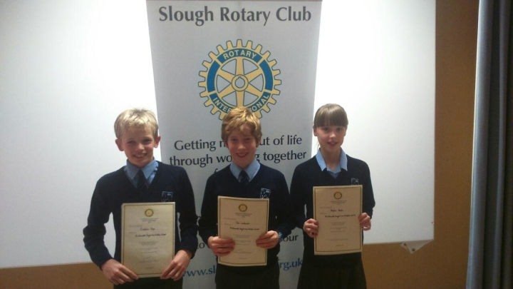 st edwards royal free middle rotary youth speaks orange zone final