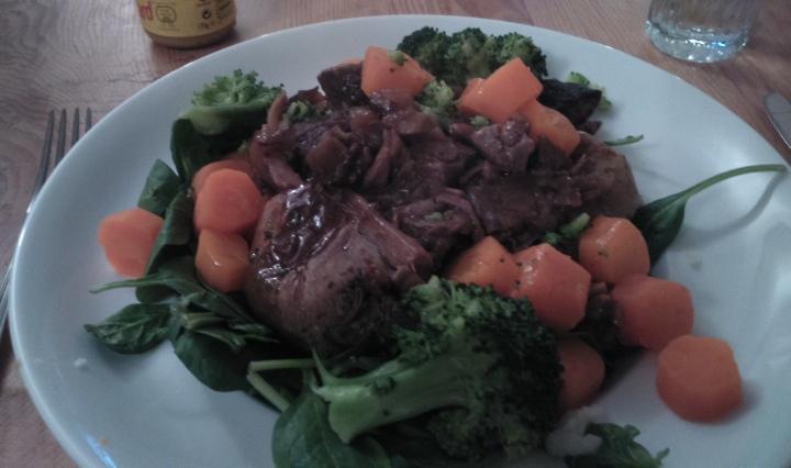 beef stew veg baked potato food