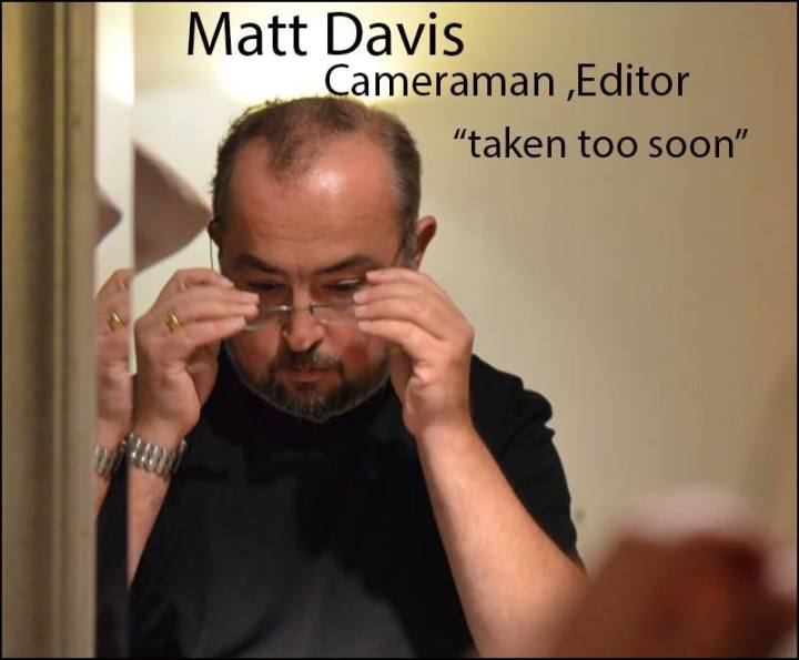 matt davies taken too soon