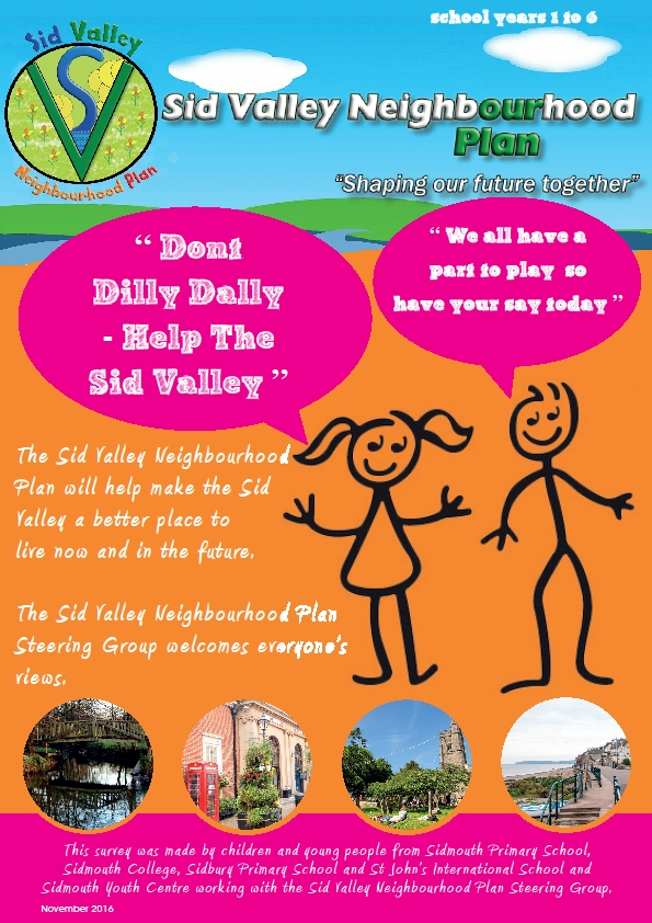 sid valley neighbourhood plan youngsters view